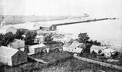 Fairport in 1858